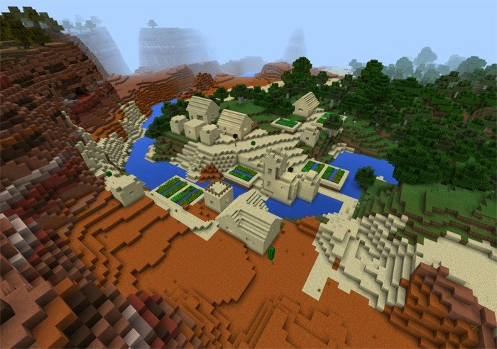 Sand village in clay lands: 1307477
