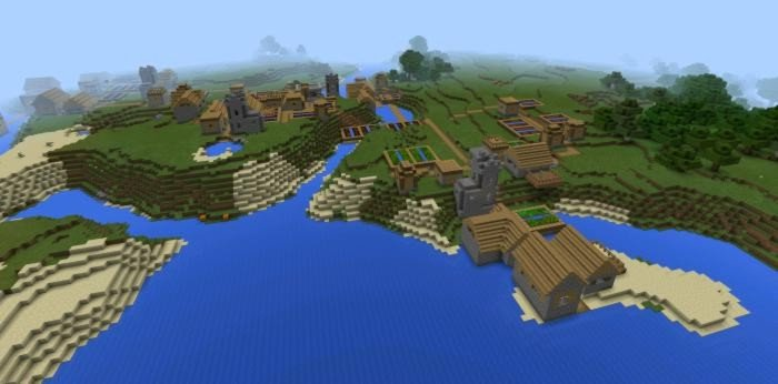 Four villages at once: can u follow me?