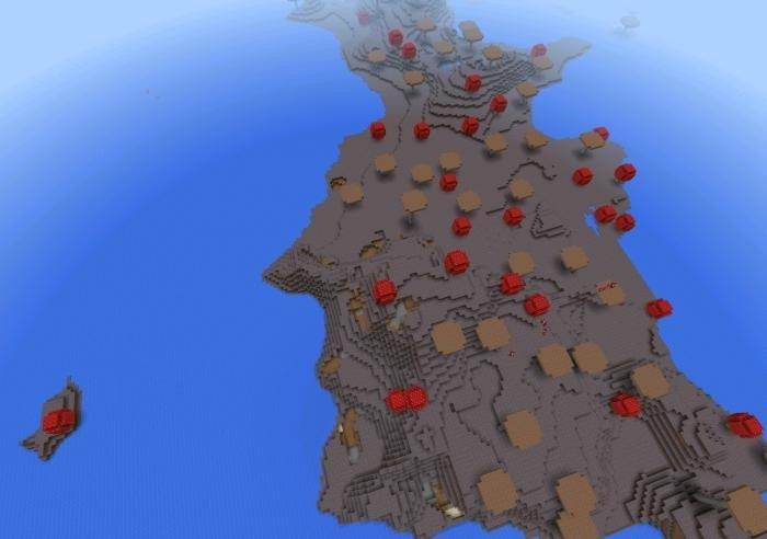 minecraft pe mushroom island seed