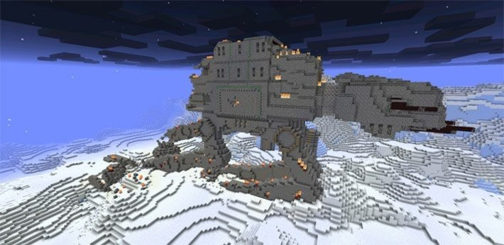 SW: Battle on Hoth map [Structures]