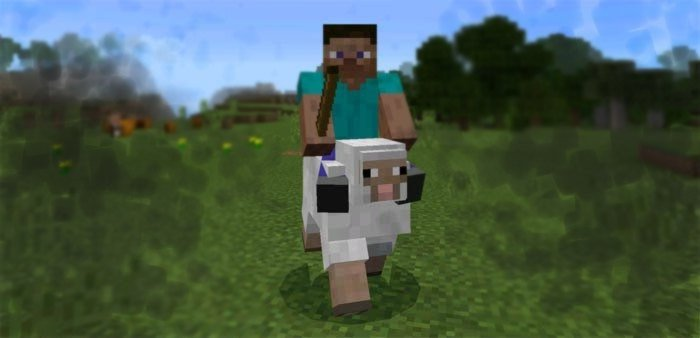 Mob Bikes mod for Minecraft PE 0.16.0