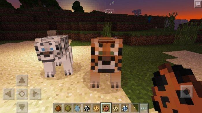 Pocket Creatures mod for Minecraft PE 0 16 0