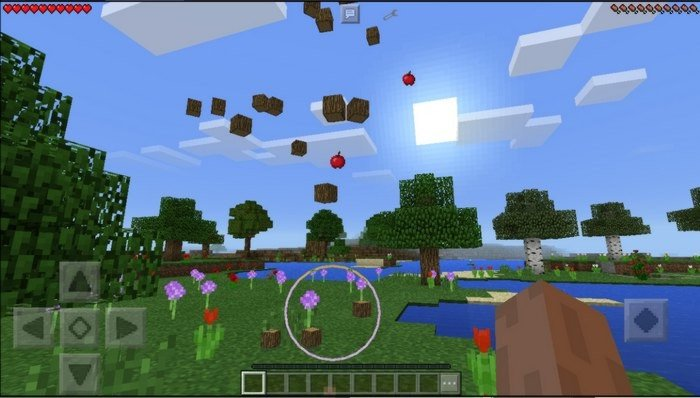 TreeCapitator mod for Minecraft PE 0 16 0