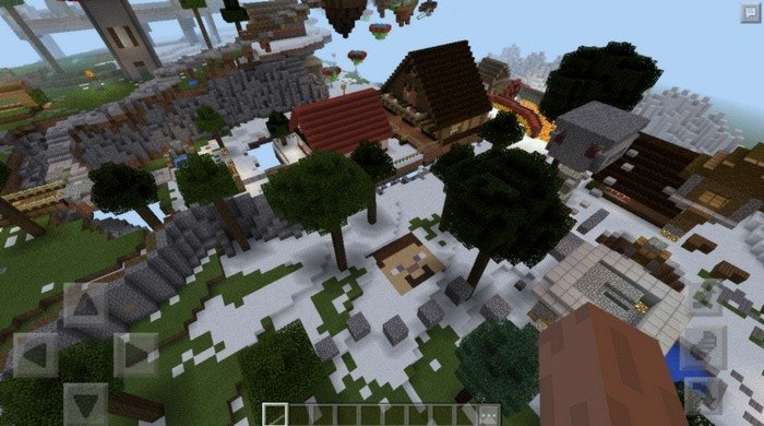 Sky Wars map for Minecraft PE