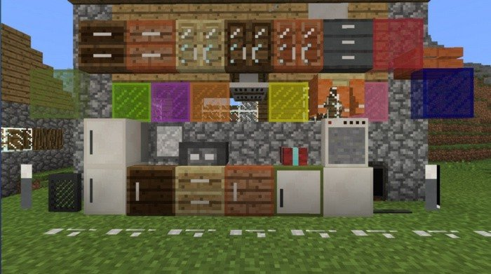 Furniture Mod For Minecraft Pe 0 16 2