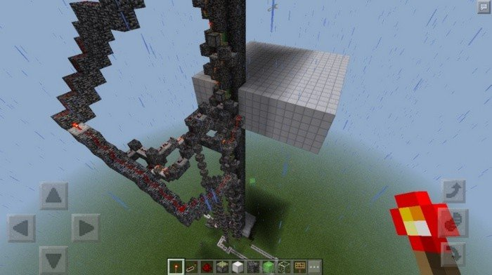 minecraft pe elevator map download