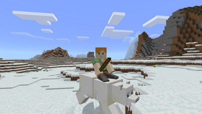 how to tame a polar bear in minecraft