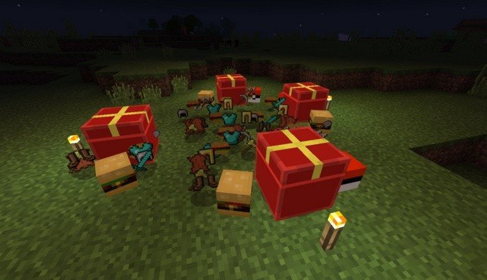 4 surprise boxes