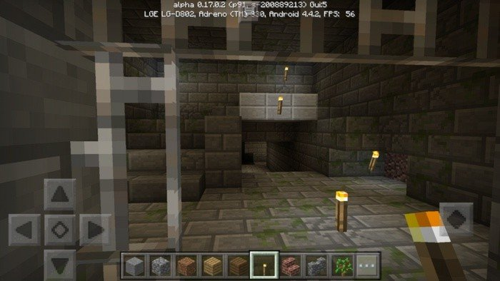 Stronghold in Minecraft PE