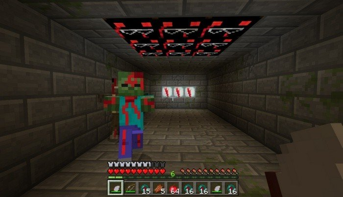 Blood Evening Horror Map For Minecraft PE - Horror maps fur minecraft