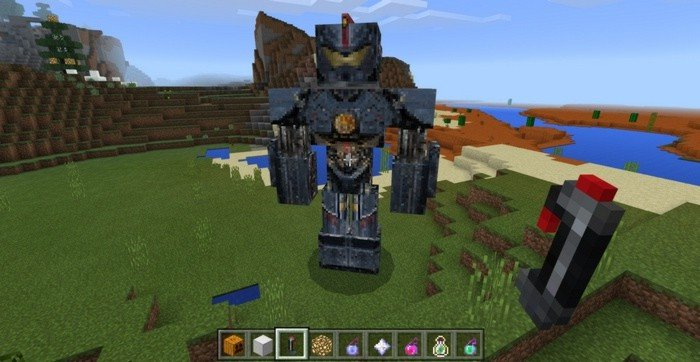 Control mecha by carrot on a stick