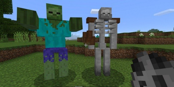 Mutant versions of Zombie and Skeleton