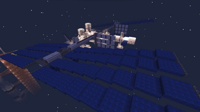 Space shuttle and iss map for minecraft 100 how to install maps gumiabroncs Choice Image