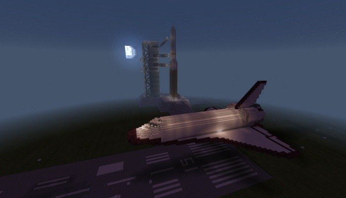 Copy of the space shuttle