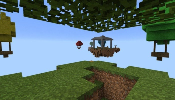 Minecraft pe skywars map download | ✓BEST MCPE SKYWARS MAP