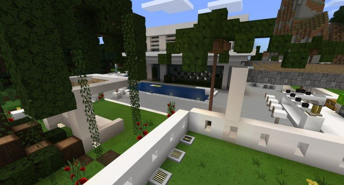 mcpe mansion maps download