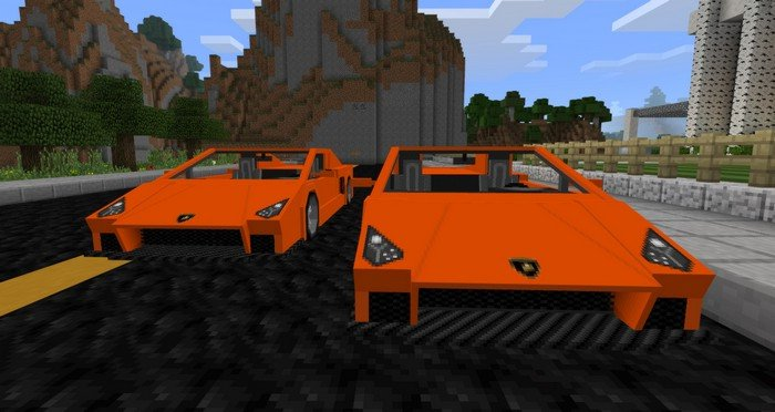 Sports Car mod for Minecraft PE 1 0 5
