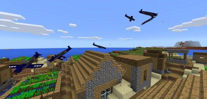 plane mod for minecraft pe