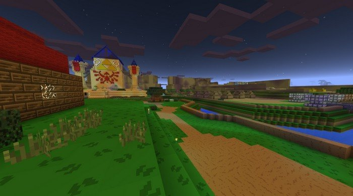 The Legend of Zelda map for Minecraft PE 1.0.3
