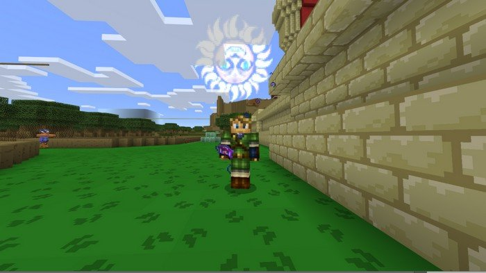 The Legend Of Zelda Map For Minecraft PE - Skins para minecraft zelda