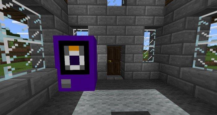 Purple Vending machine (Shulker originally)