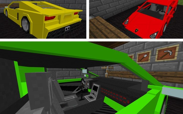 minecraft racing cars mod download