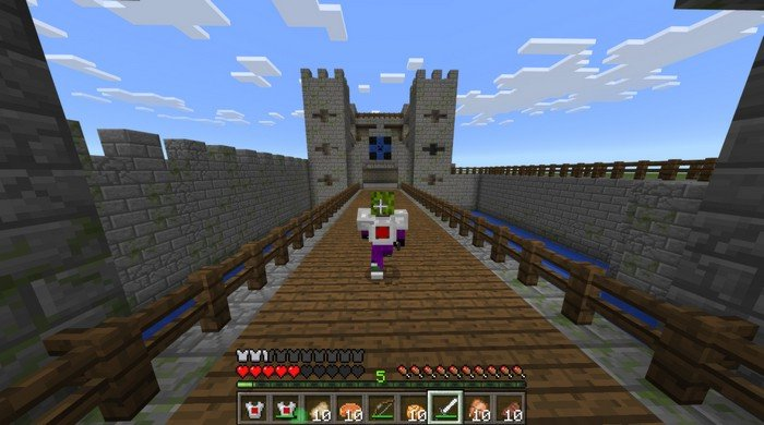 Castle Wars PvP multiplayer map