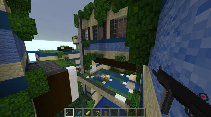 Black Ops 3 PvP map for Minecraft PE 1.0.5