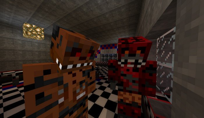 Five Nights at Freddy's addon for Minecraft PE 1 1 2