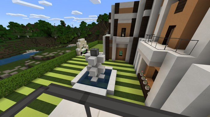 Redstone mansion from the outside
