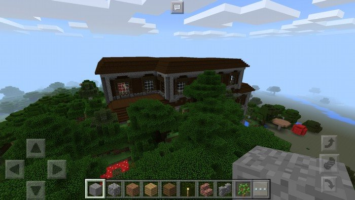 Woodland mansion in MCPE