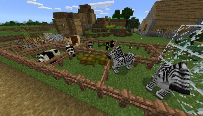 Real life animals addon for Minecraft PE 1 0 9