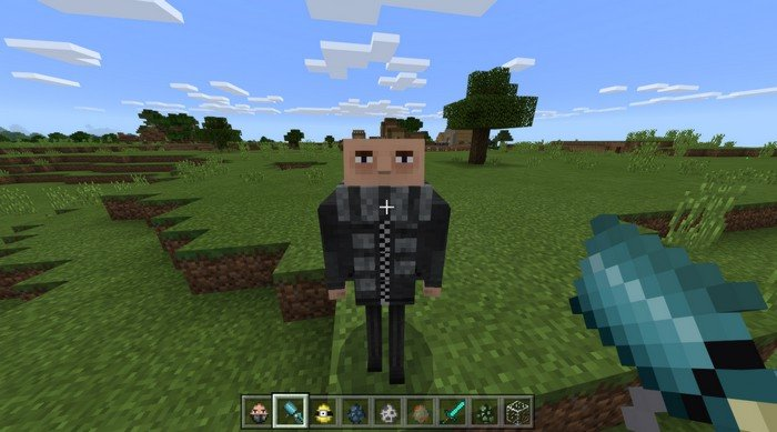 Felonius Gru in Minecraft PE