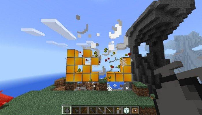 Granade explosion