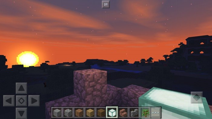 Sunset with shaders
