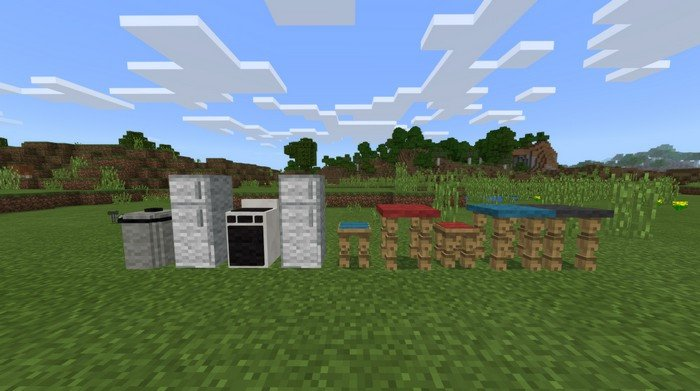 Simple Furniture addon for Minecraft PE 1 2 9