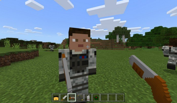 Modern Weapons in Minecraft PE