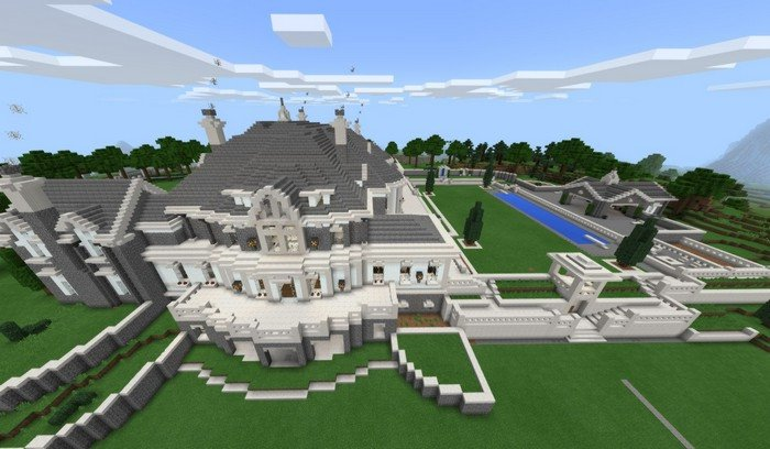 Mansion house map for Minecraft PE 1 1 4