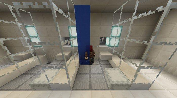 Shower in prison
