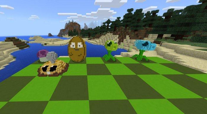 plants vs zombies minecraft apk download