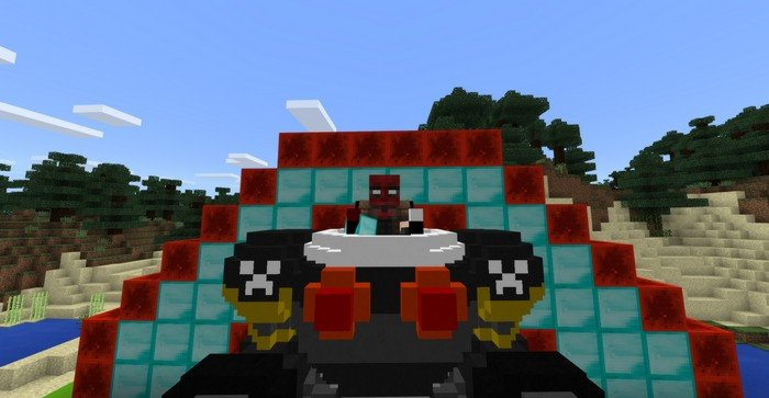 Heavy robot armor mod for Minecraft PE 1 2 0