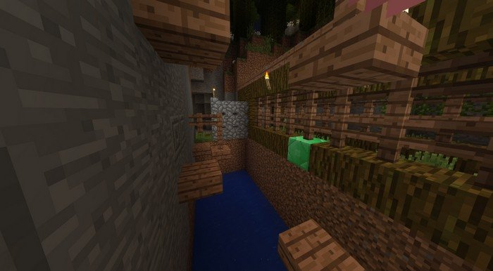 Run or dead map for Minecraft PE 1.2.6