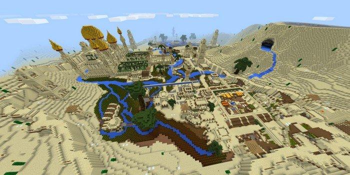 Arabian city map
