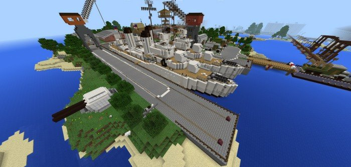 Ships in the docks