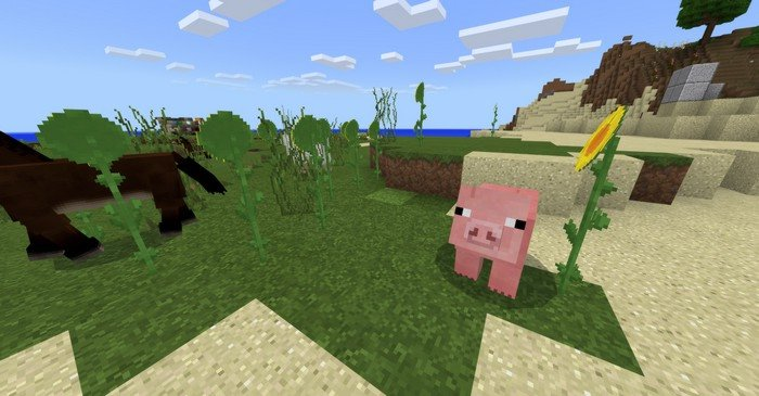 Faithful 32x resource pack for Minecraft PE 1 11 4