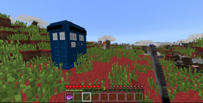tardis map for minecraft pe 1213