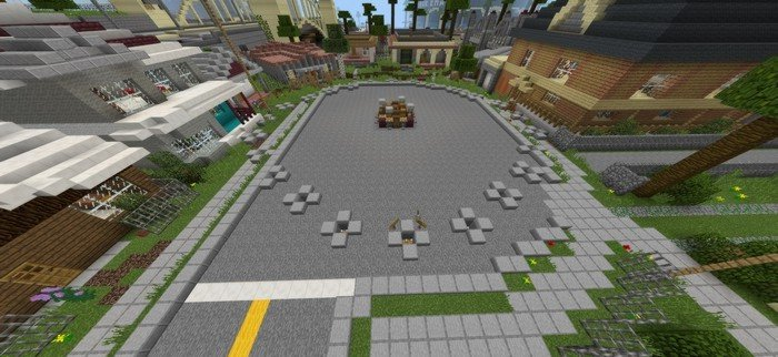 GTA: SA hunger games map for MCPE 1.2.8