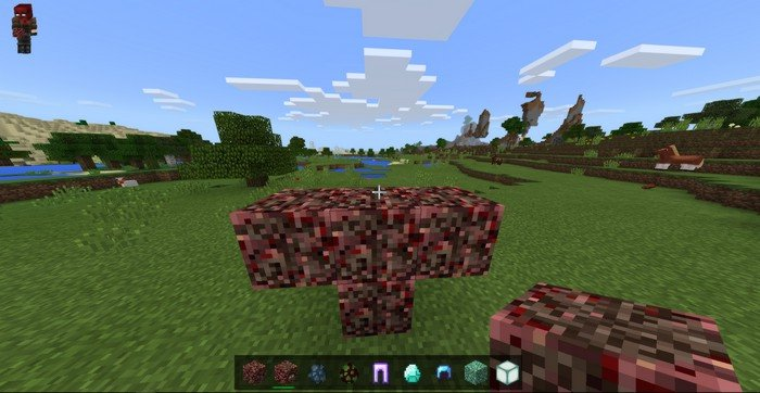 Building a totem of summoning the Herobrine