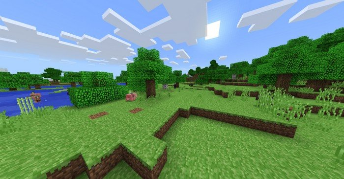 Minecraft Alpha texture pack
