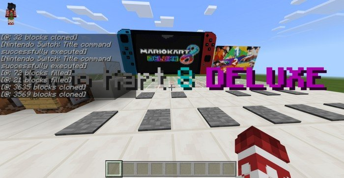 Nintendo Switch in Minecraft PE